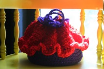 Cupcake purse Red Hat Club Style...