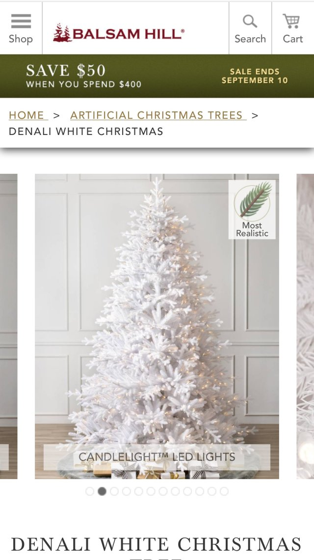 advertisements - Hallmark Christmas Home Decor